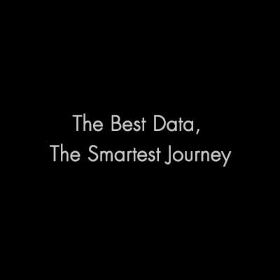 The Best Data, The Smartest Journey